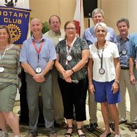Key West Sunrise Rotary installs 2016-17 President and Board