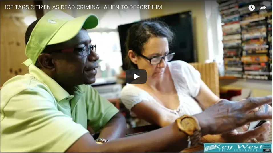 ICE TAGS CITIZEN AS DEAD CRIMINAL ALIEN FROM JAMAICA TO DEPORT HIM