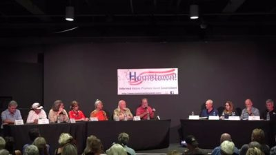 September 17th is HOMETOWN'S 5th and Final Candidate Event of the 2018 Election Year