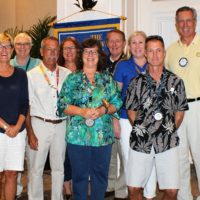 Key West Sunrise Rotary Installs 2017-18 President and Board
