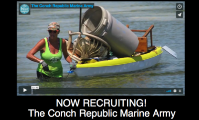 Now Recruiting: The Conch Republic Marine Army