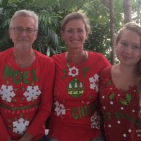 Show Off Your Ugly Holiday T Shirt! - December Fundraiser