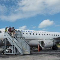 United Airlines' First Nonstop Flight from Newark to Key West Lands Early