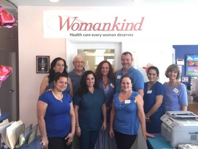 Womankind Dresses in Blue to Support Colon Health