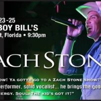 Zach Stone Appearing March 25 at Cowboy Bill's