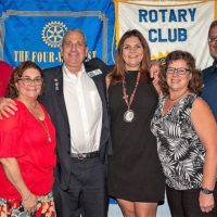 Key West Rotary Clubs Welcome District Governor