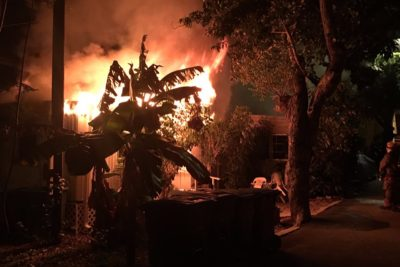 Beloved Key West Woman Barely Escapes Catastrophic House Fire