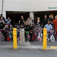 Bikes Collected for Holiday Toy Drive