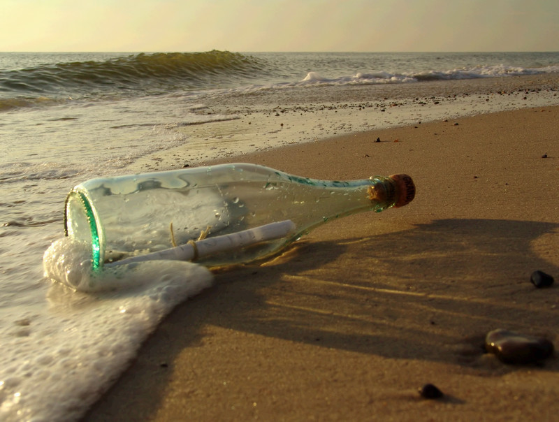 message in a bottle canstockphoto414495