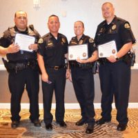 Three Receive Chief's Commendation