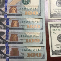 Couple Charged With Fake $100 Bills