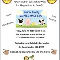 Fundraiser Friday for the Sheriff's Animal Farm