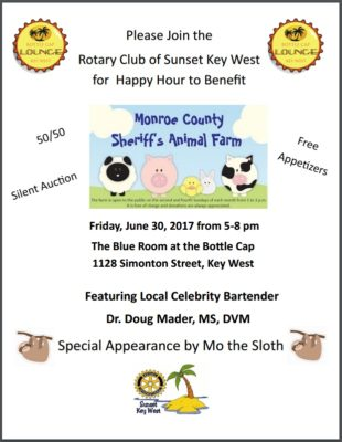 Fundraiser Friday for the Sheriff's Animal Farm
