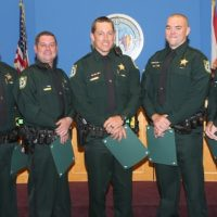 Deputies Who Fought Marina Fire Honored
