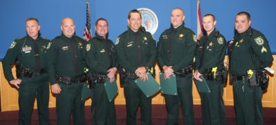 Deputies Who Fought Marina Fire Honored