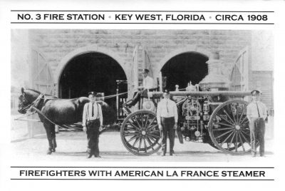FIGHTING FIRE IN KEY WEST