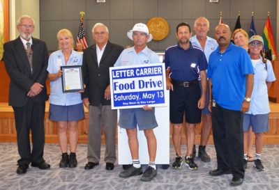 Letter Carrier Food Drive Day