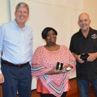 Curry-Hill Honored for Years of Service