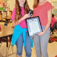 Art Teacher Holtkamp Commended by Mayor
