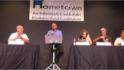 """HOMETOWN""""S Final General Election Forum will be October 17"""