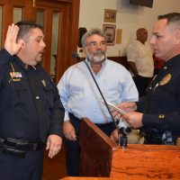 Castillo Promoted to Sergeant