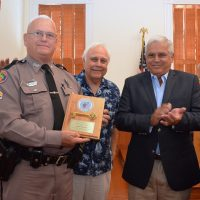 City Honors Retiring FHP Cpl Dunick