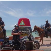 Key West Police Department Takes on the Running Man Challenge