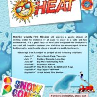 Monroe County Fire Rescue to Host 'Beat the Heat' Events for Children