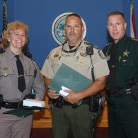 Sheriff Honors Leaders