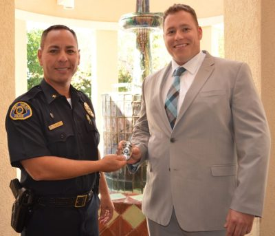 New Key West Police Officer Welcomed