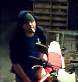 UPDATE on Stolen Motorcycle Case...