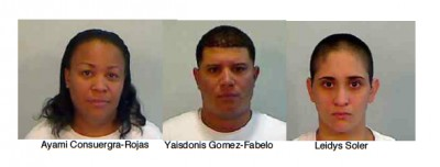 Credit Card Fraud Suspects Arrested