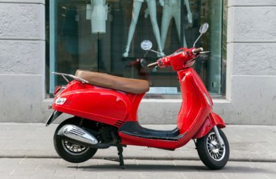 Not For Public Use: Out-Of-Towner Arrested for Stealing Scooter