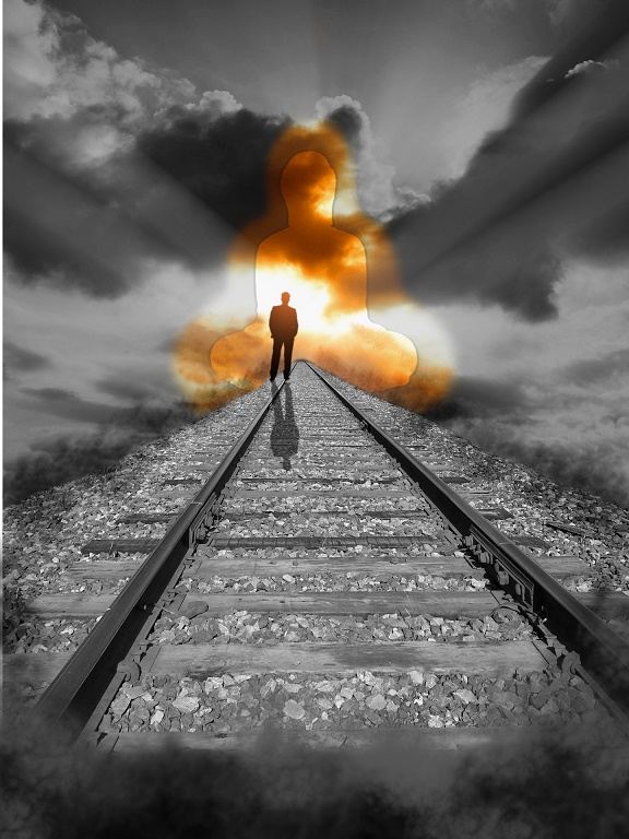 """Railway To Heaven"" by Charles Rondeau."