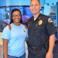 Police Explorer Sabrina Islam Awarded Scholarship