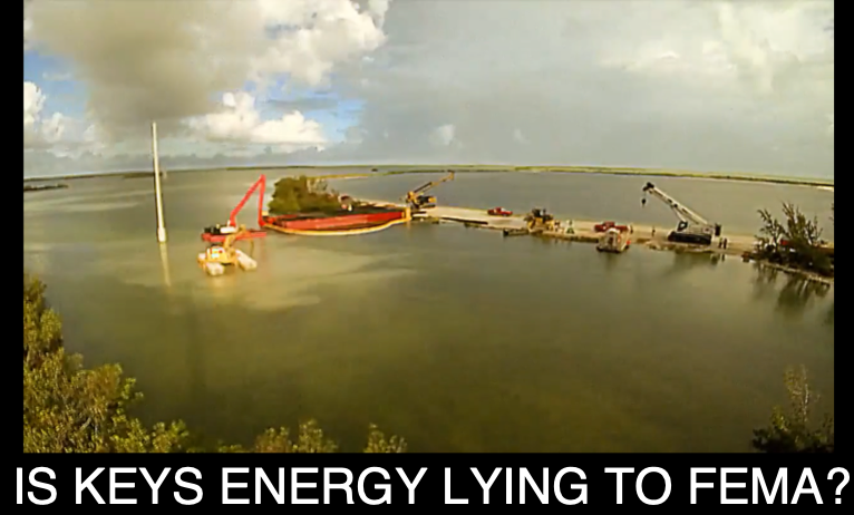 IS KEYS ENERGY LYING TO FEMA?