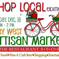Key West Artisan Market Holiday Shop Local Edition this Sunday