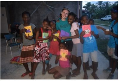 Big Pine Academy Students Create Cards for Orphans Living in Leogane After Hurricane Mathew Devastates the Island