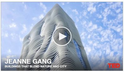 Buildings that Blend Nature and City