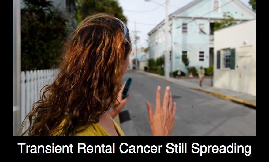 Transient Rental Cancer Still Spreading
