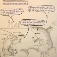 Tunatoons- Mary Lee The Great White Shark