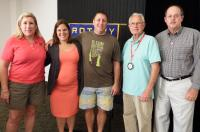 Public Defender and USCG Officer Join Key West Sunrise Rotary