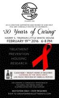Join AIDS Help on February 19th For Their 30th Anniversary!