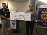 Key West Sunrise Rotary Donates to Nepal Earthquake Relief