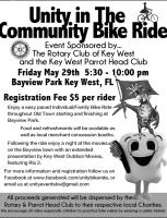 Rotary Bike Ride Today May 29