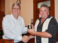 Wright Commended on 20 years Service
