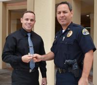 New Officer Sworn In