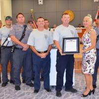 KWFD Honored for Ambulance Service