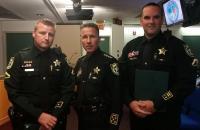 Sheriff's Medal Awarded