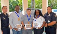 KWPD Explorers Honored